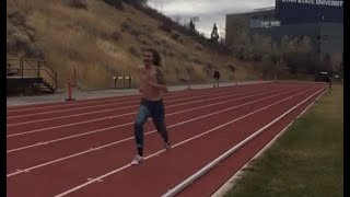Blue Jean Mile World Record 4:11 By Dillon Maggard