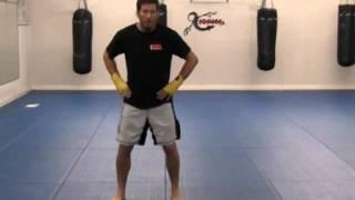 Beginner MMA - Basic Punching (T-Frame Motion)
