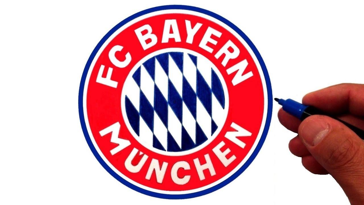 How To Draw The Fc Bayern Munich Logo