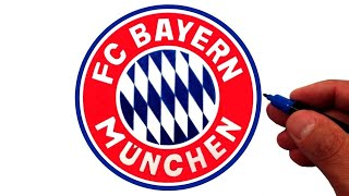 How to Draw the FC Bayern Munich Logo