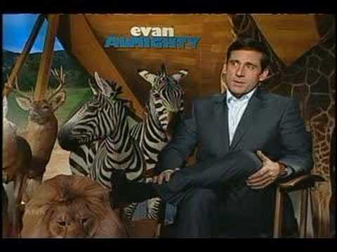 Steve Carell Rewrites Story Of Noahs Ark Youtube