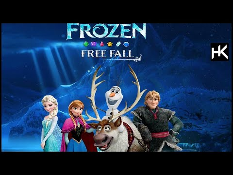 Frozen Free Fall: Snowball Fight | First Play | Let it go