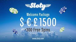 Welcome to Sloty! [OnlineCasino.eu]