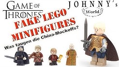 GoT Fake-Lego Minifiguren Game of Thrones - was taugen die China-Minifigures?