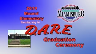2019 Mound D.A.R.E. Graduation Ceremony