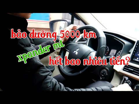 Bảo dưỡng ô tô xpander MT 5000 km hết bao nhiêu tiền?