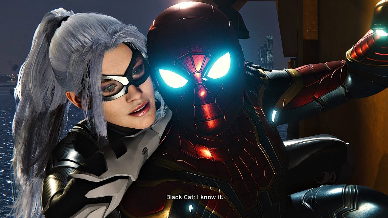 Image result for spider man ps4 black cat