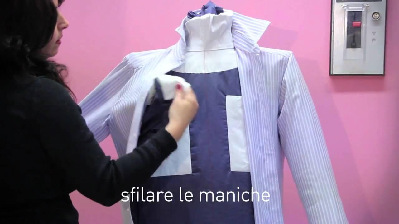 Angolo Lavanderia Stireria : Istruzioni di montaggio camicia e pantalone in lavanderia self
