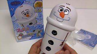Frozen Olaf 90 Secs Sherbet Maker 'Furu Kyara Ice' ~ アナと雪の女王 フルキャラアイス マグ オラフ