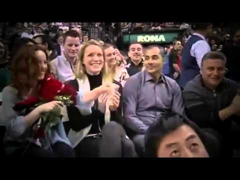 The Raptors TV ~:~ Rachel McAdams at the Raptors Game