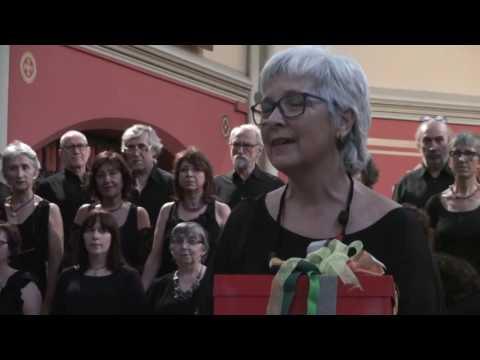 """Concert """"Colors"""". Poema """"L'alegria"""" De Joana Raspall. Coral Allegro BCN."""