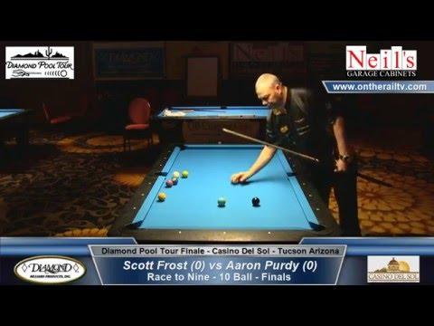 Diamond Pool Tour Finale - Scott Frost vs Aaron Purdy - Finals