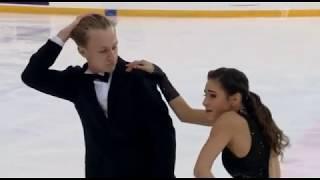 Диана Дэвис Глеб Смолкин Первенство России среди юниоров 2020 Ритм танец