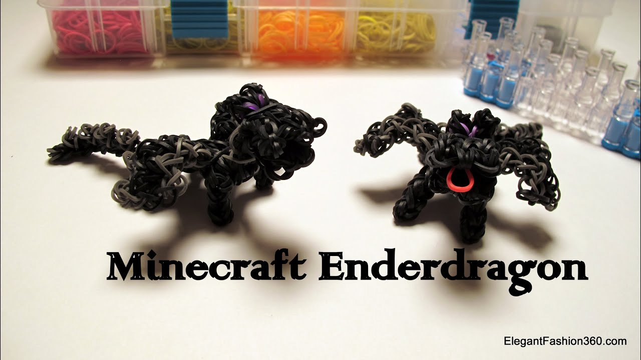 Drangonminecraft enderdragon action figure how to rainbow loom drangonminecraft enderdragon action figure how to rainbow loom minecraft series youtube ccuart Image collections