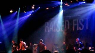 Raised Fist - Friends & Traitors live @ Tyrol Sthlm 2009