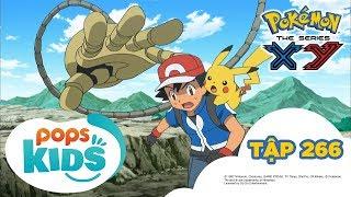 Pokémon Tập 266 - Quyết Đấu Tại Nhà Máy Chế Tạo Bóng Chứa Pokémon! - Hoạt Hình Pokémon S18 XY