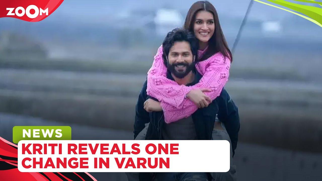 Kriti Sanon REVEALS the one change in Varun Dhawan after his wedding