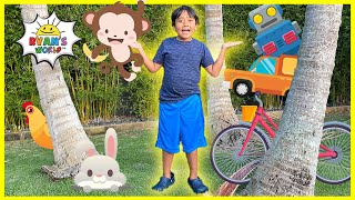 Living and NonLiving Things for kids   learning video with Ryan's World!