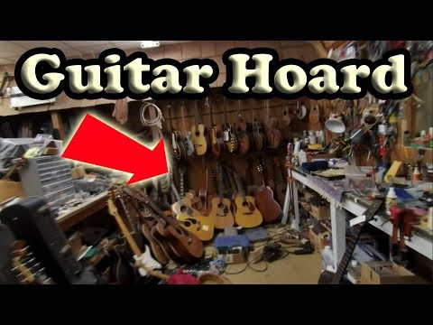Guitar Store Owner Shows Me His PRIVATE HOARD!