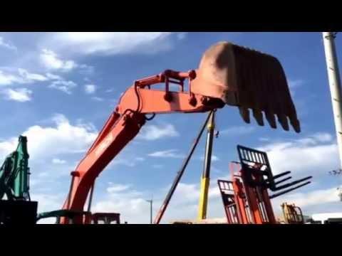 ユンボ 日立HITACHI油圧式ショベル UH07 12m3 激安中古販売
