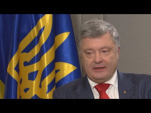 'Official US position, confirmed by Trump: Crimea is Ukrainian', Poroshenko says