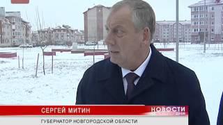Сергей Митин осмотрел стройобъекты Великого Новгорода, сдача которых запланирована на конец 2013-го