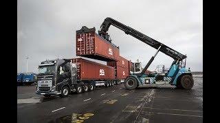 Volvo FH16 против 750 тонн