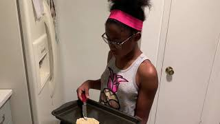 My First Time Cooking Breakfast!! OMG!!!