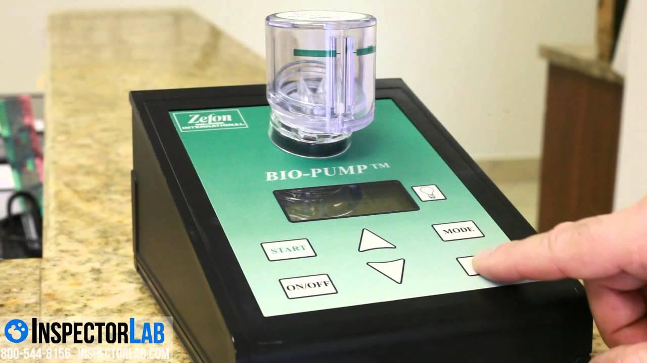 using an air-o-cell with a bio pump