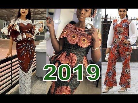 2019 Ankara Styles for Ladies : Lovely Ankara Aso Ebi Styles to Rock the World