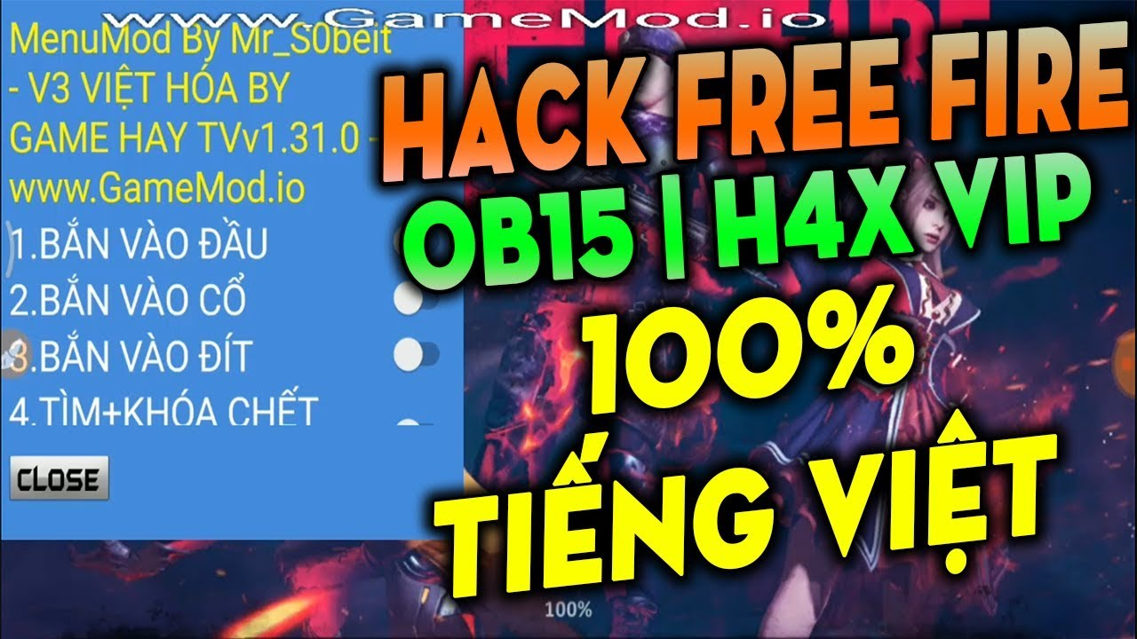 H A C K FREE FIRE OB15 Auto HaedShot | HIGH DAME - ApkGods com