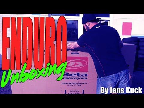 BETA Factory Enduro // UNBOXING // Jens Kuck