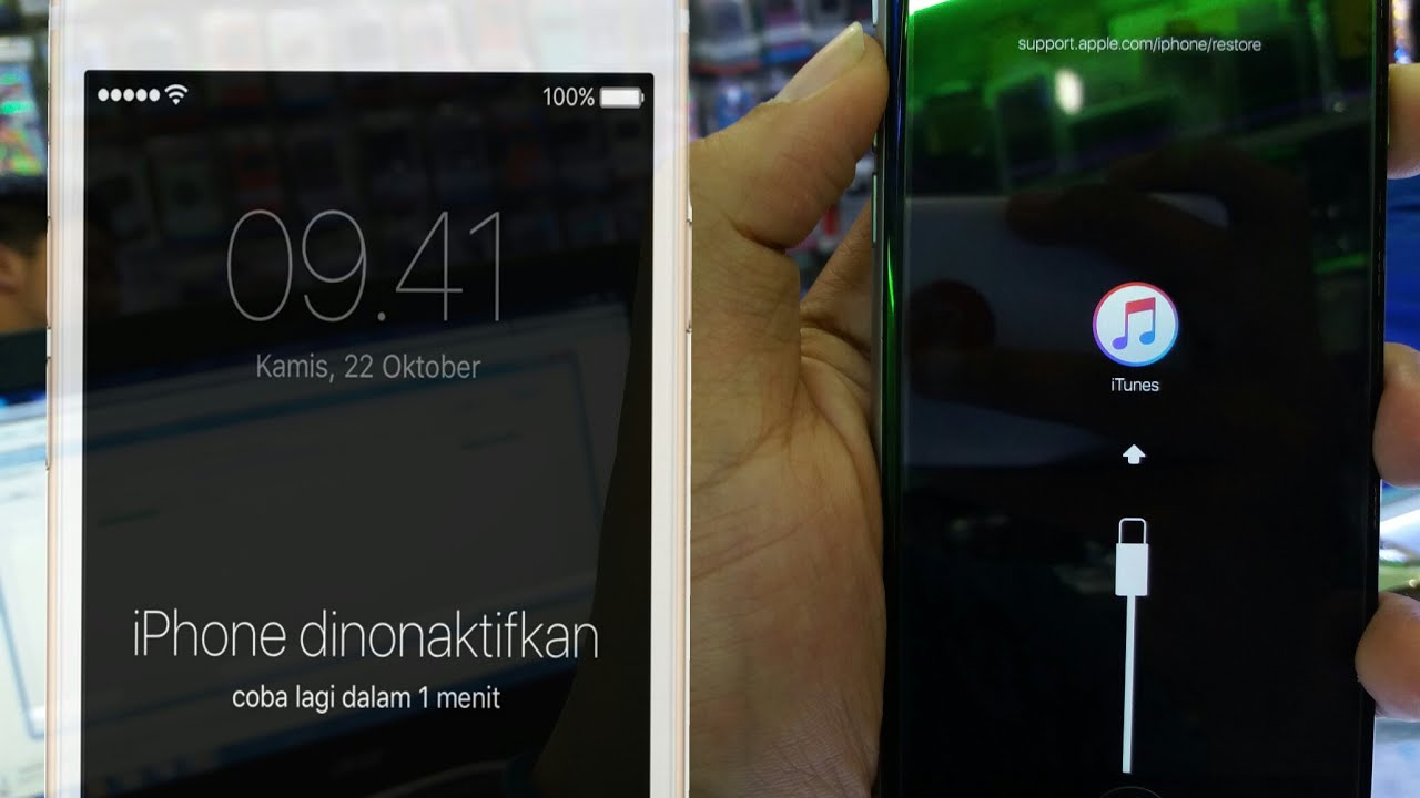 how to fix a disabled iphone tutorial mengatasi iphone disabled dinonaktifkan lupa 18811