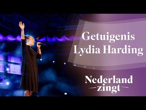 Nederland Zingt Dag 2018: Getuigenis Lydia Harding op de Nederland Zingt Dag