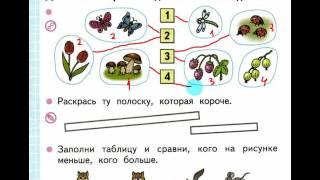Математика 1 класс по рабочей тетради Моро, Волкова стр 12