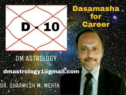 D-10 Dasamasha in Vedic Astrology by Dr Dharmesh M Mehta