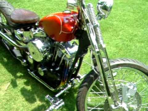 1974 harley ironhead old school bobber
