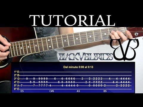 Cómo tocar The mortician's daughter de Black Veil Brides (Tutorial de Guitarra) / How to play