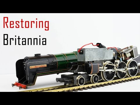 Servicing The Hornby/Tri-ang Britannia Locomotives