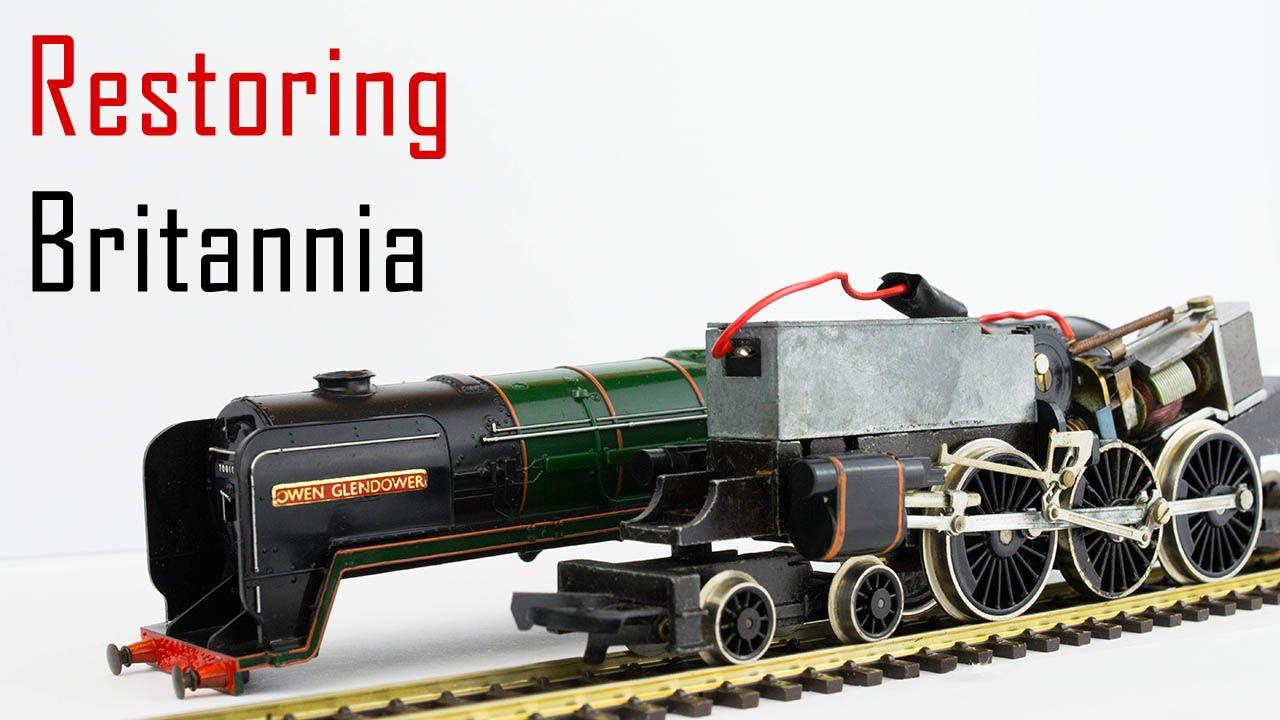 Servicing the Hornby/Tri-ang Britannia Locomotives
