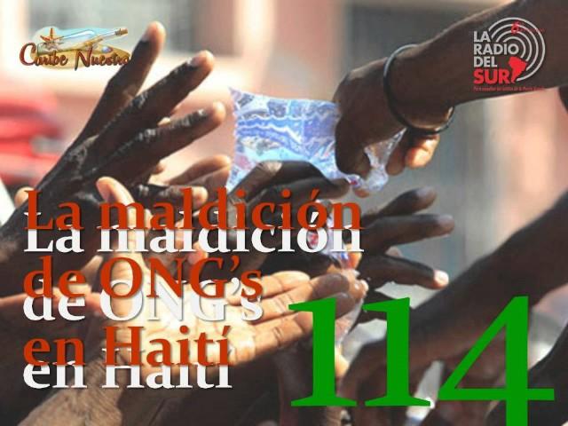 Resultado de imagen de ONG's son la maldición de Haití