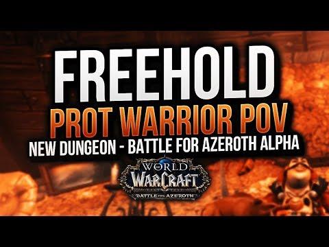 BFA ALPHA: PROT WARRIOR TANK POV FREEHOLD NEW DUNGEON  - Method Sco