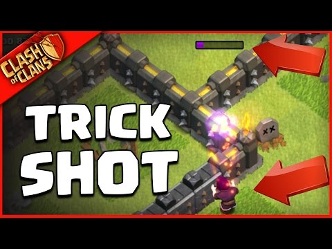 ..BETTER THAN ARCHER QUEEN? IMPOSSIBLE Clash of Clans TRICK SHOT