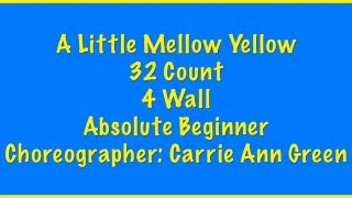 32 Count 4 Wall Absolute Beginner Level Line Dance Choreographer: C...