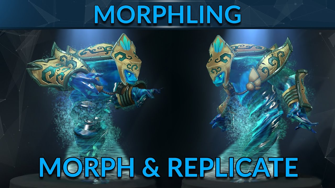 mastering morph and replicate dota 2 hero guide gameleap youtube