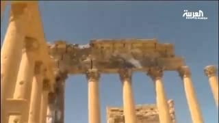 داعش يفجر معبد بعل شمين في تدمر السورية