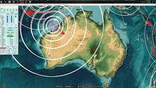 7/14/2019 -- Largest Earthquake in years strikes Australia -- M6.8 (M6.6) M7.0