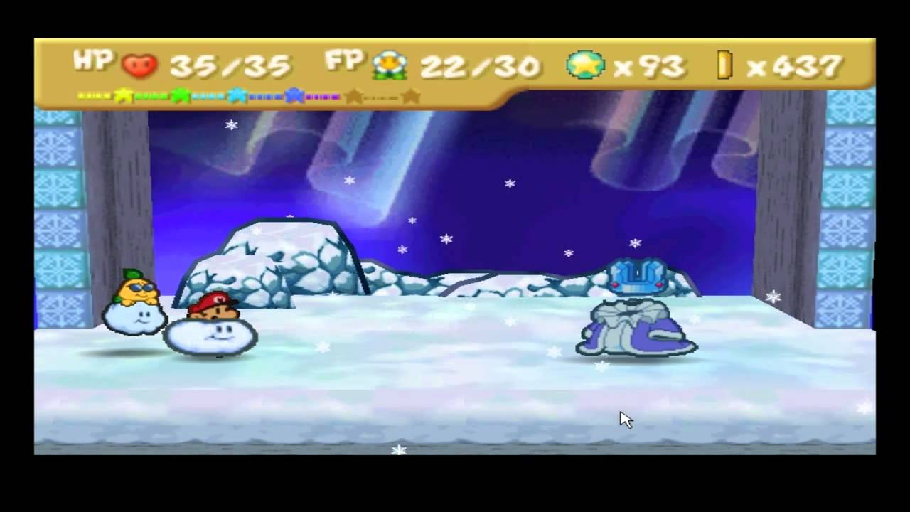 Paper Mario | Chapter 7 Boss - Crystal King - YouTube