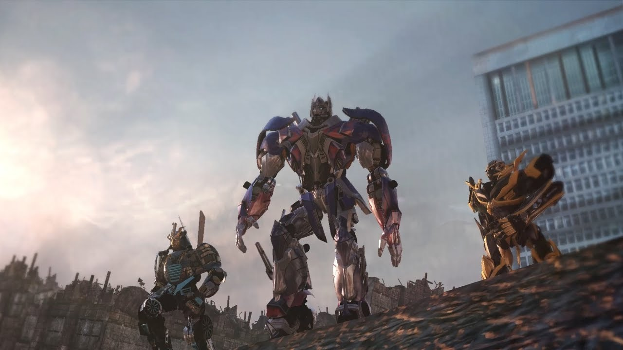 Transformers Rise Of The Dark Spark Gameplay Youtube
