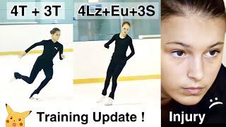 Training UPDATE Trusova Valieva Shcherbakova and Kostornaia for the Olympics